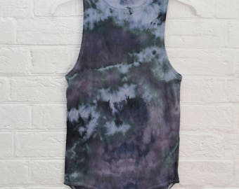 ladies Size L/14 Body Suit - High Back & Front - Beach -  Ready To Ship - Tie Dyed - 100% Cotton - FREE SHIPPING within Aus
