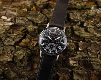 Military watch, Pobeda watch, Aviator watch, Vintage watch, ussr watch, soviet watch, men watch, russian watch, retro watch, gift for him