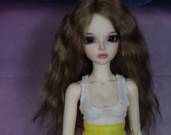 BJD Fairyland Minifee Mirwen OOAK custom doll repaint by SansaraBJDStudio (recast)