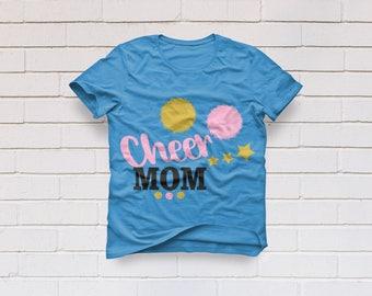 Cheerleading svg, Cheerleader svg, Cheer mom svg, Cheer svg, Cheer clipart, Pom pom svg, Cricut, Cameo, Clipart, Svg, DXF, Png, Pdf, Eps