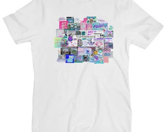 Vaporwave Essentials Japan Error Music Internet Meme White Men's T Shirt