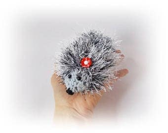 Crochet hedgehog Crochet toys hedgehog Plush Gift for her for kids Stuff Crochet toy Amigurumi Animal Amigurumi Crochet toys