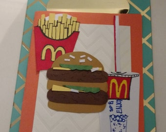 Foody Card-  McDonald's