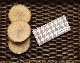 Handy pouch with handkerchiefs, hankies, handkerchiefs, ecological, economical bag case