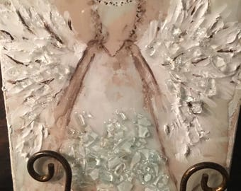 Free Shipping - Hand Painted Angel