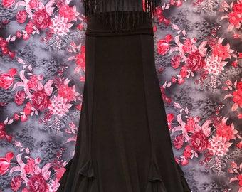 True model Flamenco Skirt