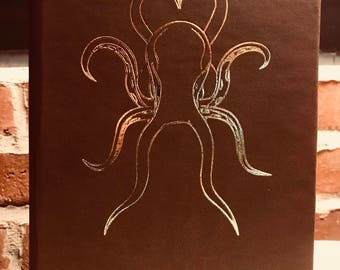 Journal, Hand Made, Octopus Theme,