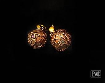 Ormolu Miscellany earrings