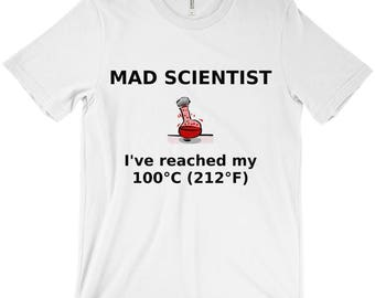 Mad Scientist Boiling Point Geek Political Science T-Shirt