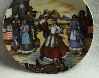 Avon American Portraits Mini Plate Collection - The Southwest (#145)