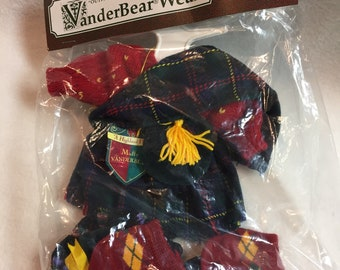 North American Bear Company - VanderBear Wear Clothing - Muffy - Highland Fling (#064)