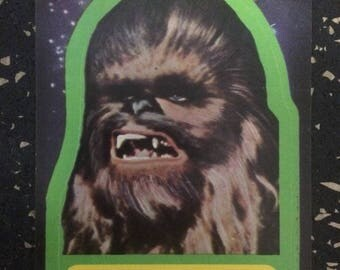 Star Wars Chewbacca The Wookiee Sticker