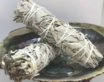 California White Sage Smudge Stick || Meditation Stick ||