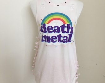 Death Metal Rainbow Tee