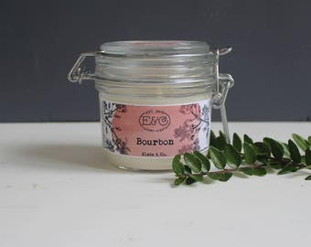 Bourbon rapeseed wax Scented candle