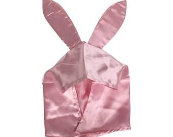 Louise Belcher Hat Bob's Burgers TV Show Bunny Ears Pink Costume Cartoon Cosplay Hood Rabbit Cap Flaps Accessory Prop Gift
