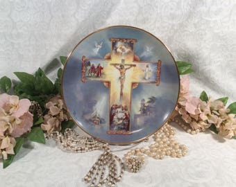 "Franklin Mint ""Life of Christ"" Limited Edition Collectors Plate"