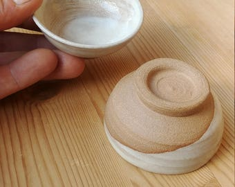 Set of Four - Half Dip Sake Cups