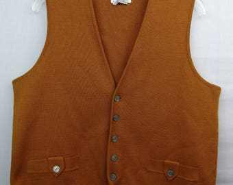 Wool sweater vest | Etsy