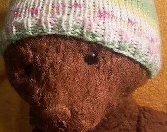 Newborn knit beanie, knit newborn hat, newborn beanie, baby knit hat, knit baby hat, baby girl hat, baby boy hat, baby hat