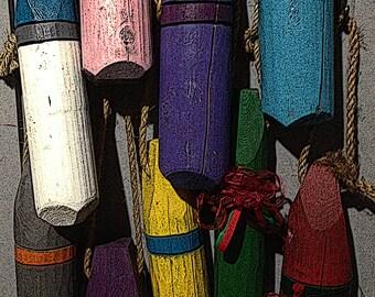 Decorative Cedar Buoys