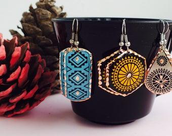 Ethnic jewelry, Ethnic earrings, tribal jewellery, tribal earrings, tribal fashion, ethnic fashion, turkish earrings, ottoman earrings,