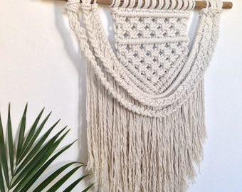 Sophie Macrame Wall Hanging (Natural Cotton Rope)