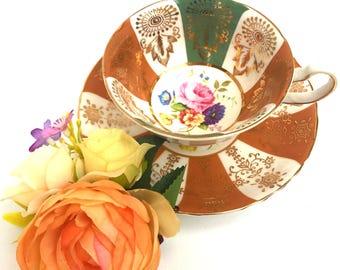 Stunning Rare 24 carat gold Tea Set