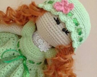 Crochet Doll PDF Pattern Amigurumi Doll Pattern Tilda Girl  fairy
