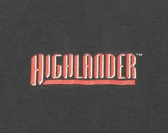 Vintage Highlander T-Shirt, There Can Be Only One