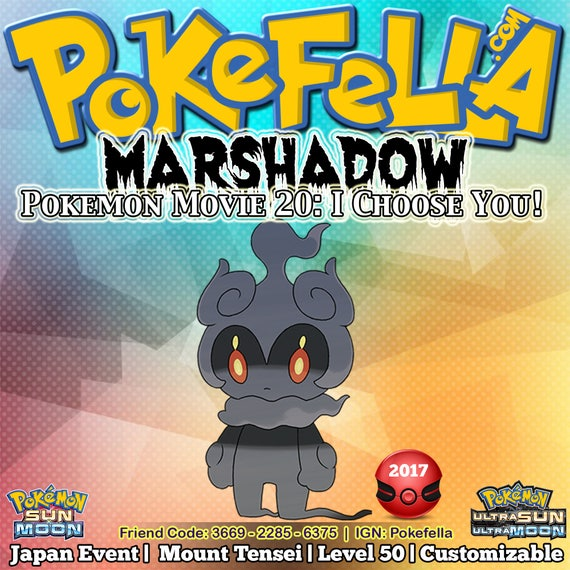 how to get marshadow z move