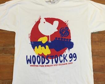 Woodstock 99 concert t-shirt