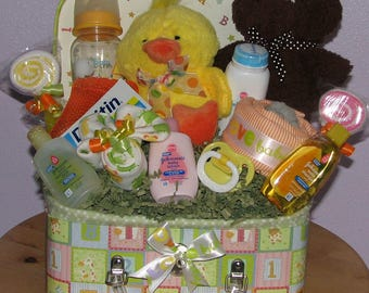 Neutral Baby Gift, Baby Shower Gift, Newborn Baby Gifts, Baby Shower in a Box