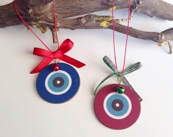 Evil eye ornament  Etsy