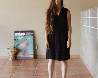 Vintage 90s Little Black Dress