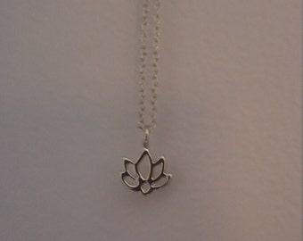 Karma Lotus Flower Necklace