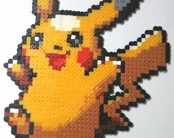 Pikachu - Pokemon Pixel art beads