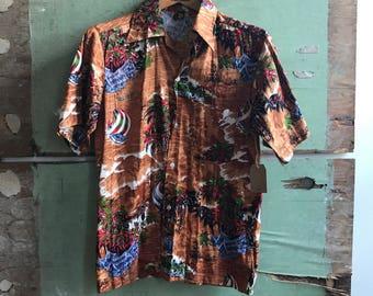 1970's Small Foey Aloha Shirt