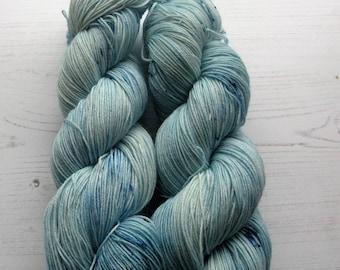 "4 Ply Moomin Inspired yarn.""Snork "" colourway."