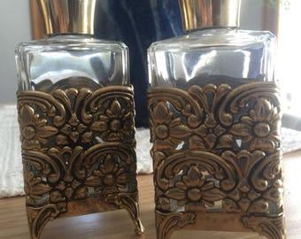 Bubble Bath/Perfume Bottles (set of two)