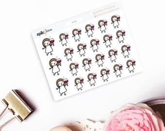Wine Planner Stickers, Me Time Planner Stickers, Drinking Planner Stickers