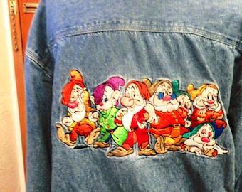 Disney woman's shirt jeans/80
