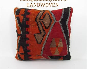 throw pillow decorative pillow kilim pillow cover wedding gift cushion pillowcase home decor pillows Housewarming Gift For Women 1633