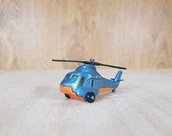 Matchbox - Matchbox Helicopter - Matchbox 1976s - SEASPRITE - Collectible Helicopter - Vintage Vehicles - Made in Bulgaria.