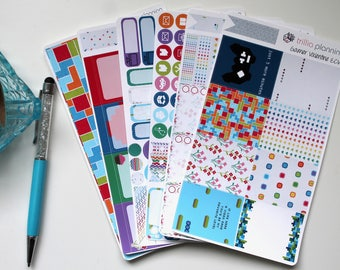 Gamer Valentine - Erin Condren Vertical Weekly Kit
