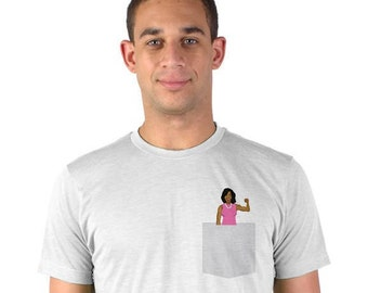 Michelle Obama Shirt / Michelle Obama T-Shirt / Michelle Obama Tshirt / Michelle Obama Feminist / Michelle Obama Feminist Shirt