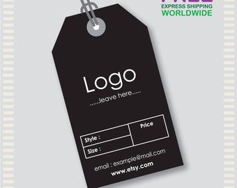 1000 Pcs Custom Hang Tags, Custom Clothing Labels, Custom Clothing Hang Tag,  Cheap
