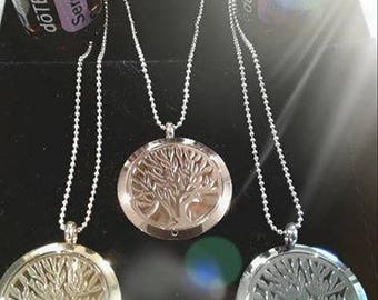 Tree Of Life necklace diffuser