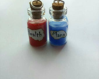 Health and Mana Charms - Mini Bottles