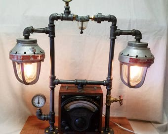 Industrial Valve Desk Lamp
